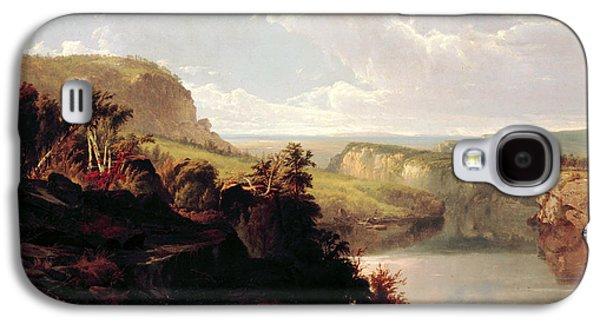 Lake Among The Hills  Galaxy S4 Case