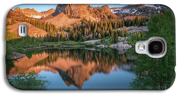 City Sunset Galaxy S4 Case - Lake Blanche At Sunset by James Udall