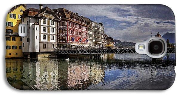 Lake Lucerne  Galaxy S4 Case by Carol Japp