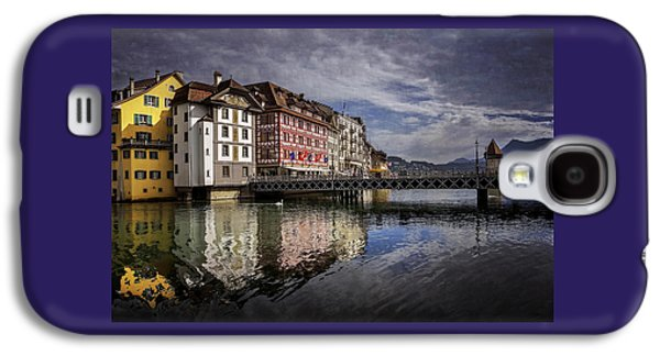 Lake Lucerne  Galaxy S4 Case by Carol Japp