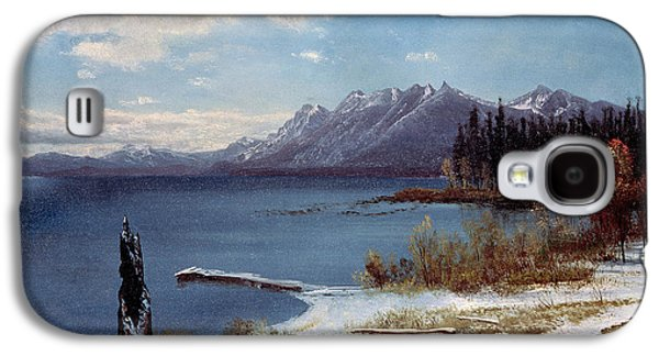 Lake Tahoe Galaxy S4 Case by Albert Bierstadt
