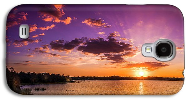 Lake Tarpon Sunset Galaxy S4 Case by Marvin Spates