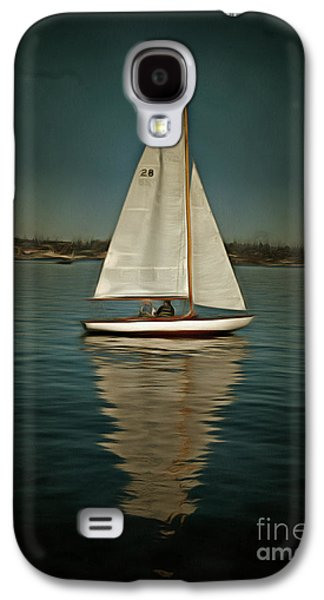 Lake Union Day Sailing Galaxy S4 Case