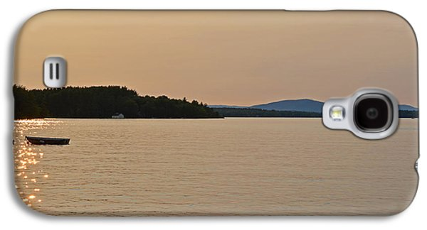 Lake Winnipesaukee Row Boat Sunset Galaxy S4 Case by Toby McGuire