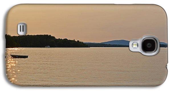 Lake Winnipesaukee Row Boat Sunset Galaxy S4 Case by Toby McGuire