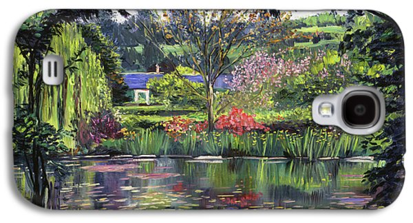 Lakeside Giverny Galaxy S4 Case by David Lloyd Glover