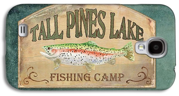 Lakeside Lodge - Fishing Camp Galaxy S4 Case by Audrey Jeanne Roberts