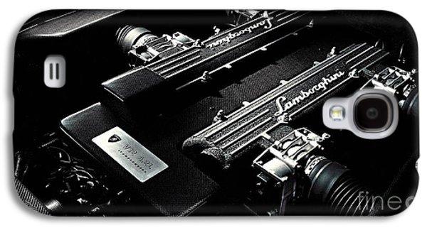 Lamborghini Engine Galaxy S4 Case