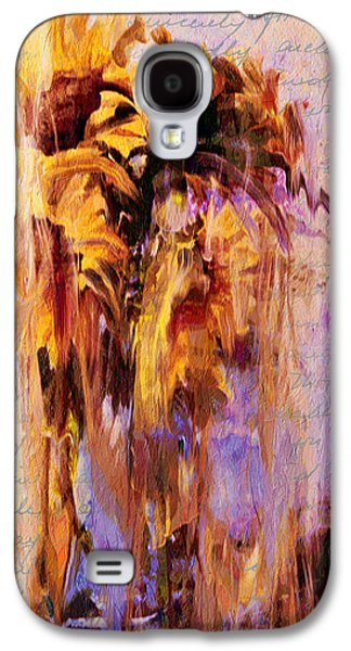 Lament Of Sunflowers Galaxy S4 Case by Georgiana Romanovna