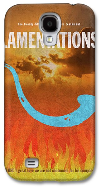Lamentations Books Of The Bible Series Old Testament Minimal Poster Art Number 25 Galaxy S4 Case