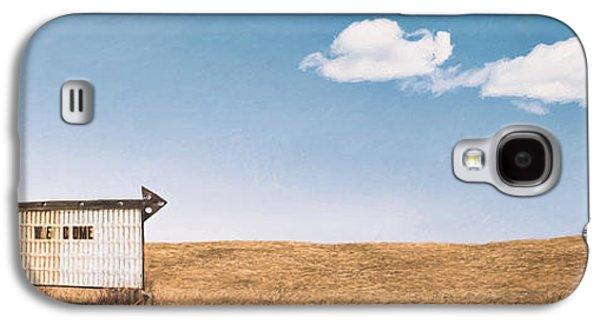 Lamp-lite Motel Galaxy S4 Case by Scott Norris