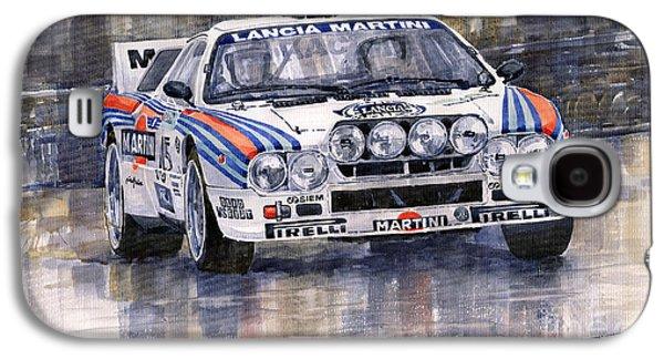 Lancia 037 Martini Rally 1983 Galaxy S4 Case