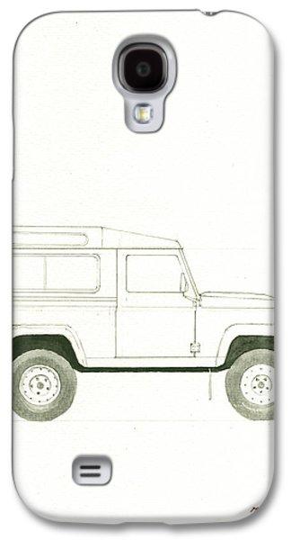 Land Rover Defender Galaxy S4 Case