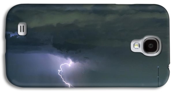 Galaxy S4 Case featuring the photograph Landing In A Storm by James BO Insogna