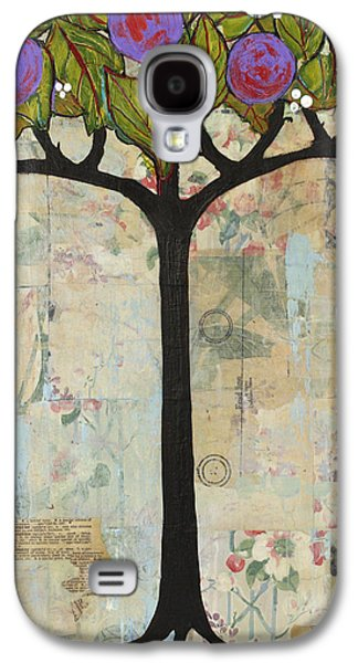 Landscape Art Tree Painting Past Visions Galaxy S4 Case by Blenda Studio