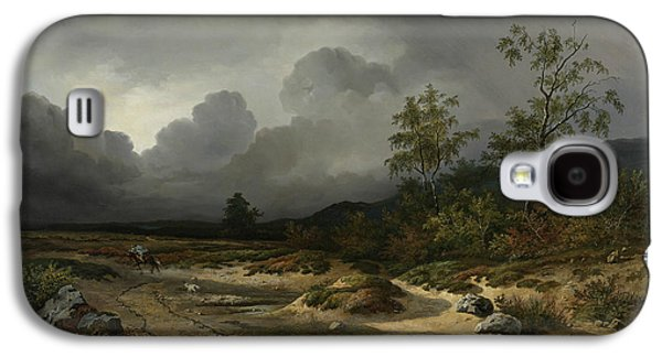 Landscape In An Approaching Storm Galaxy S4 Case by Willem Roelofs