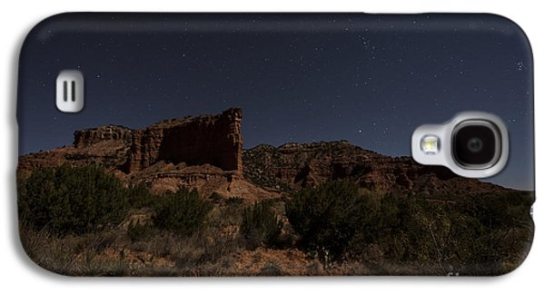 Landscape In The Moonlight Galaxy S4 Case by Melany Sarafis