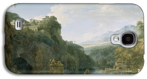 Landscape Of Ancient Greece Galaxy S4 Case by Pierre Henri de Valenciennes