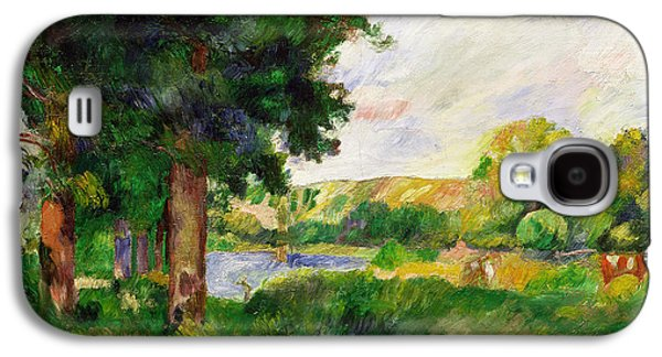 Landscape Galaxy S4 Case by Paul Cezanne