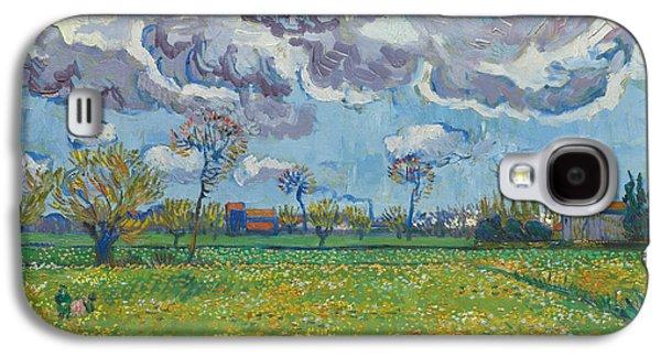 Landscape Under A Turbulent Sky Galaxy S4 Case
