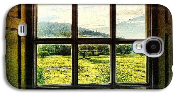 #landscape #window #beautiful #trees Galaxy S4 Case