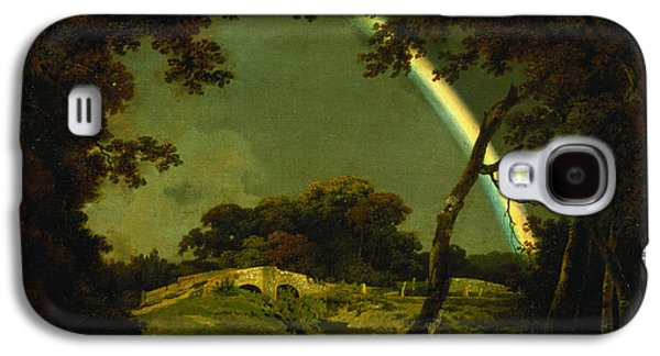 Landscape With A Rainbow Galaxy S4 Case by Joseph Wright of Derby
