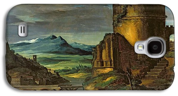 Landscape With A Tomb  Galaxy S4 Case by Theodore Gericault