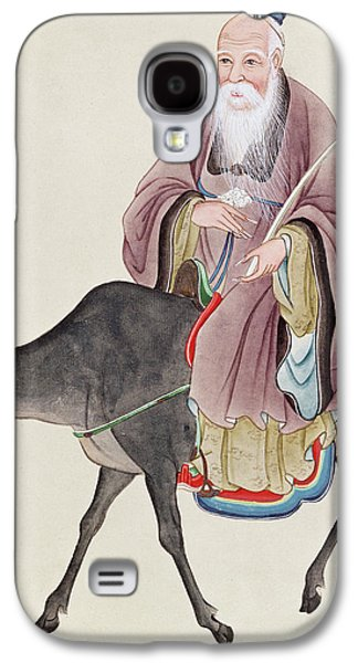 Lao Tzu On His Buffalo Galaxy S4 Case by Chinese School