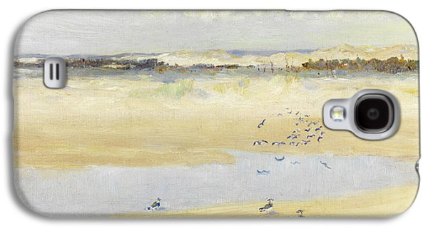 Lapwings By The Sea Galaxy S4 Case