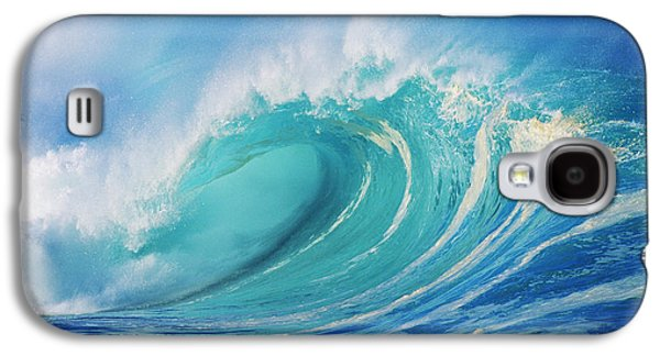 Large Wave Curling Galaxy S4 Case by Ron Dahlquist - Printscapes