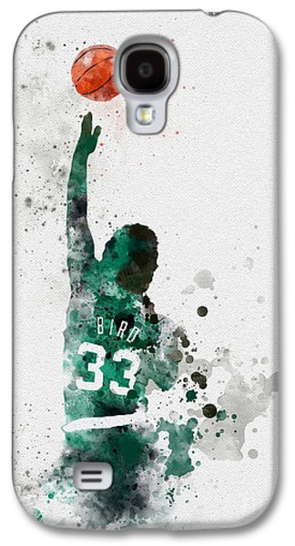 Larry Bird Galaxy S4 Case by Rebecca Jenkins
