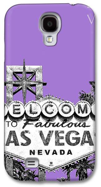 Las Vegas Sign - Purple Galaxy S4 Case