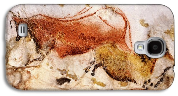 Lascaux Cow And Horse Galaxy S4 Case