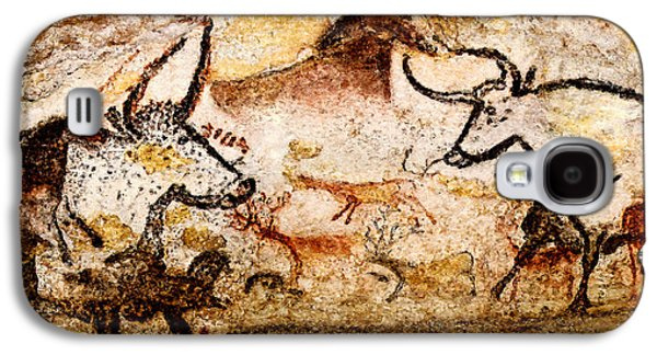 Lascaux Hall Of The Bulls - Deer And Aurochs Galaxy S4 Case