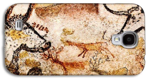 Lascaux Hall Of The Bulls - Deer Between Aurochs Galaxy S4 Case