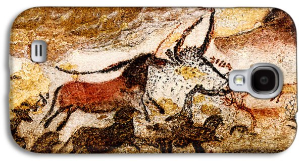 Lascaux Hall Of The Bulls - Horses And Aurochs Galaxy S4 Case