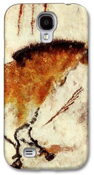 Lascaux Prehistoric Horse Detail Galaxy S4 Case
