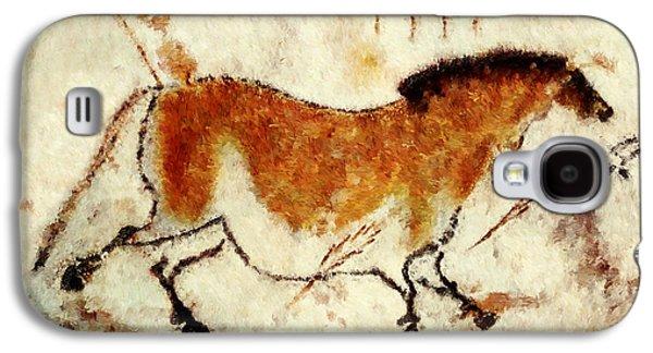 Lascaux Prehistoric Horse Galaxy S4 Case