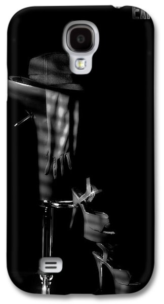 Last Call In Black And White Galaxy S4 Case by Tom Mc Nemar