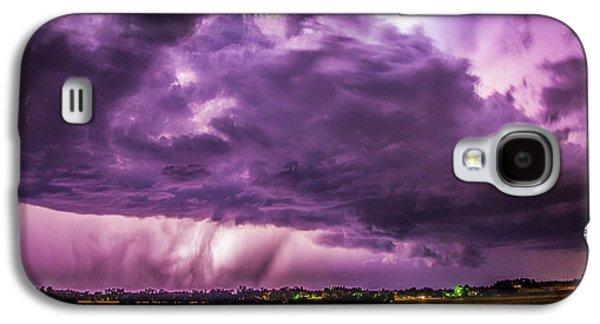 Nebraskasc Galaxy S4 Case - Last Chace Lightning For 2017 006 by NebraskaSC