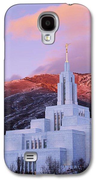 Last Light At Draper Temple Galaxy S4 Case by Chad Dutson