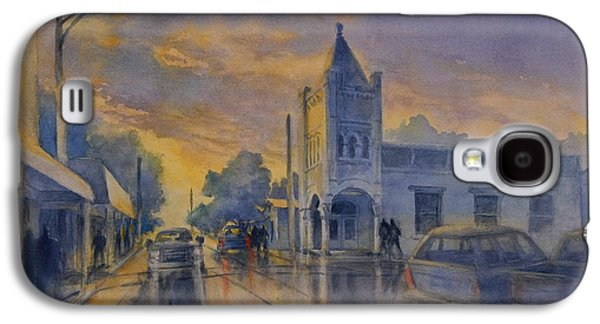 Last Light, High Street At Seventh Galaxy S4 Case by Virgil Carter