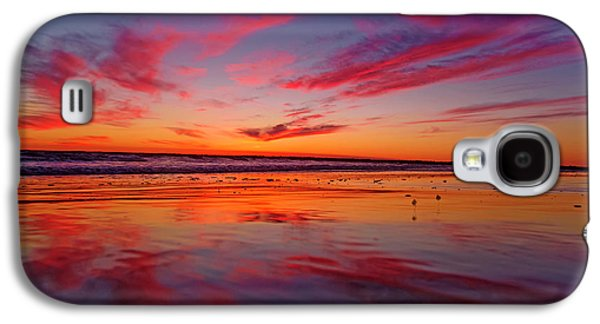 Sandpiper Galaxy S4 Case - Last Light Topsail Beach by Betsy Knapp