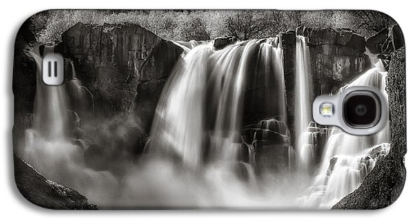 Galaxy S4 Case featuring the photograph Late Afternoon At The High Falls by Rikk Flohr
