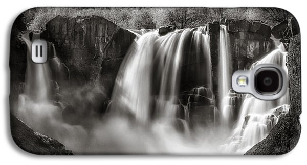 Late Afternoon At The High Falls Galaxy S4 Case by Rikk Flohr