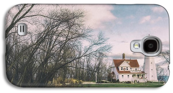 Late Afternoon At The Lighthouse Galaxy S4 Case by Scott Norris