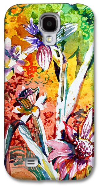 Laughing Flowers Galaxy S4 Case by Mindy Newman