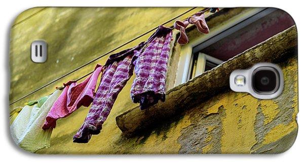 Laundry Hanging In Rovinj, Croatia Galaxy S4 Case