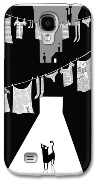 Laundry Galaxy S4 Case by Andrew Hitchen
