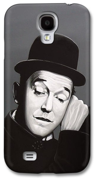 Laurel And Hardy Galaxy S4 Case by Paul Meijering